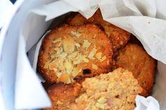 Rabarbarowe ciastka owsiane na Dzień Taty:)