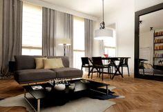 WILCZA  Apartament w kamienicy - Salon - Styl Eklektyczny - 370studio