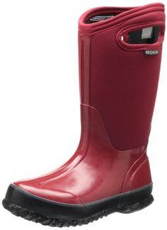 BOGS Unisex-Baby Classic Dino Snow Boot