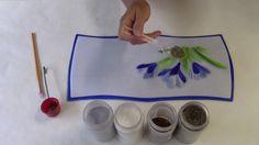 Crocus Flower Tray with Lisa Vogt