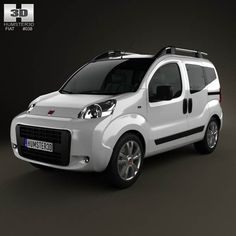 Fiat Fiorino Cubo 2011 3d model from humster3d.com. Price: $75