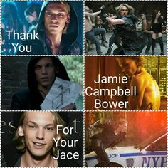 Thank you Jamie Campbell Bower for your Jace