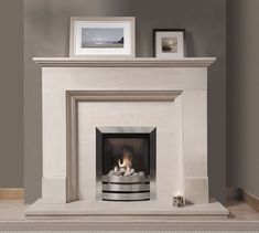 Chatsworth Portuguese Limestone fireplace, A classic design is one of the best fireplaces you can acquire, popular in traditional and modern homes.jpg