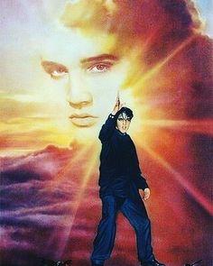 The Sun Never Sets on a Legend King Elvis Presley, Graceland Elvis, Elvis And Priscilla, Elvis Presley Photos, Priscilla Presley, Lisa Marie Presley, Cassandra Peterson, Roger Nelson, Thats The Way