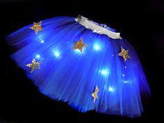 Bargain Light Up Wonder Woman Tutu www.tutufactory.co.uk