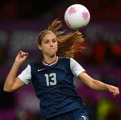 Game winning header from Alex Morgan sends USA to the gold medal game against Japan.