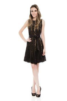 Iorane - Vestido Renda Tiras