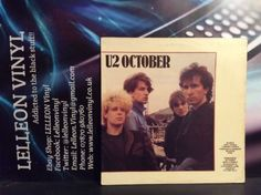 U2 October LP Album Vinyl Record ILPS9680 Rock Pop 80's Bono Edge Music:Records:Albums/ LPs:Rock:Progressive