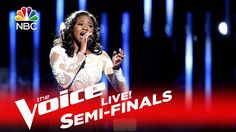 """The Voice 2016 Shalyah Fearing - Semifinals: """"And I Am Telling You I'm N..."""