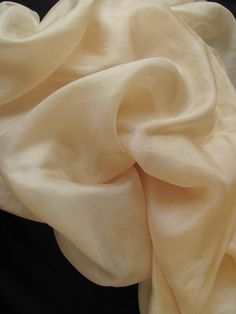 Silk dyed with quice skin