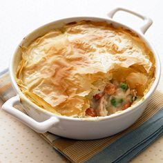 Chicken Potpie: Have Your New Years Resolution and Eat Comfort Food, Too