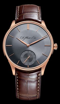H. Moser & Cie Venturer – Baselworld 2014.luv the color combo