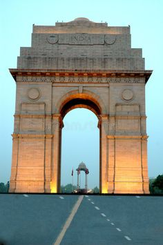 Photo about India gate of Delhi-India. Image of place, nobody, india - 5852493 Fish Background, Blue Background Images, Lights Background, Beautiful Nature Wallpaper Hd, Delhi Tourism, Gate Images, Indian Flag Wallpaper, Temple India, India Gate
