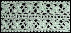 Crochet : Punto Trebol de 4 hojas