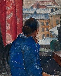 ALVAR CAWEN  At the Window (1924)