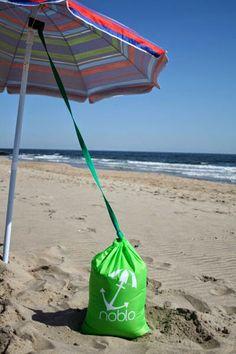 Swappin' Spoons: Heading to the Beach---Take Noblo! Clearwater Beach Florida, Florida Beaches, Beach Tent, Beach Bum, Beach Camping, Beach Umbrella Anchor, Beach Hacks, Beach Ideas, Beach Shade