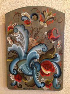 Painted in 2002 telemark, Joanne Buchweitz