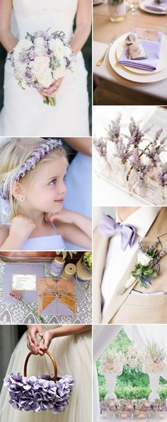 elegant gorgeous lavender wedding color ideas for summer