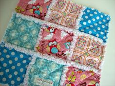 Hey, I found this really awesome Etsy listing at https://www.etsy.com/listing/87509396/rag-quilt-loveysecurity-blanket-peace