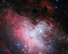 Adlernebel (Messier 16, NGC 6611)