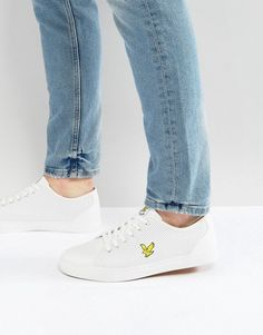 Lyle & Scott Perforated Sneaker White - White