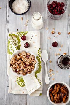 Pecan Coconut Cherry Granola