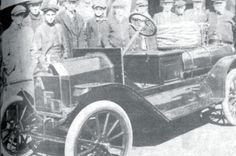First Motorized Fire Truck, Borough of Albion (1914)----  One of the first motorized fire trucks anywhere in Northwestern Pennsylvania belonged to the Albion Volunteer Fire Department.