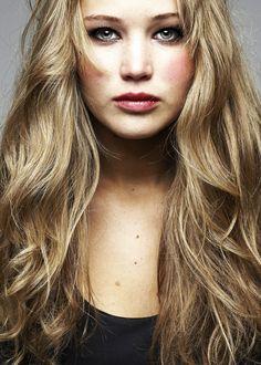 long #hairstyle :: Jennifer Lawrence