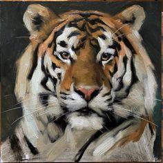 Tiger Artwork, Tiger Painting, Painting & Drawing, Animal Sketches, Animal Drawings, Art Drawings, Big Cats Art, Cat Art, Animal Symbolism