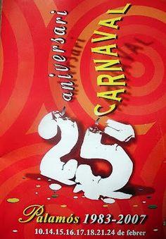 Cartell 2007, Carnaval Palamós, Colla del Testament, Enterrament de la Sardina