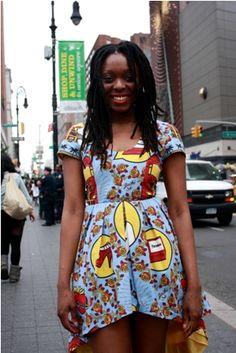 Afro Street Fashion | streetstyle