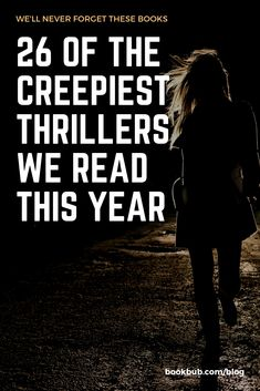On the hunt for recommended thriller books to read next? Check out this reading list of the year's creepiest books! Great Books To Read, I Love Books, Good Books, Big Books, Reading Lists, Book Lists, Reading Books, Good Thriller Books, The Book Thief
