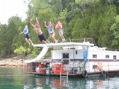 Dale Hollow Lake, TN..... Not our picture, but love houseboating there!  Paradise on Earth!!