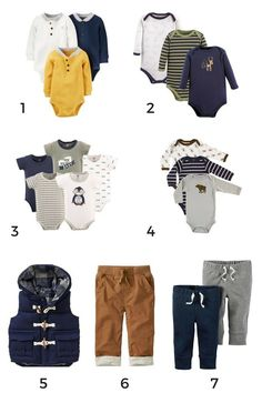 Exactly how to put together your baby's first capsule wardrobe