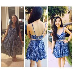 thrift store dress transformation! crop top+box pleat skirt