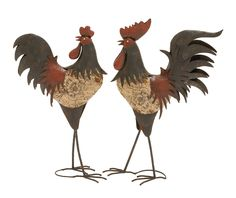 Classy Style Decortive Metal Rooster