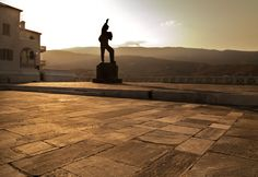 the marble sailor in the capital of Andros island is there to remind of all the lost sailors during wars