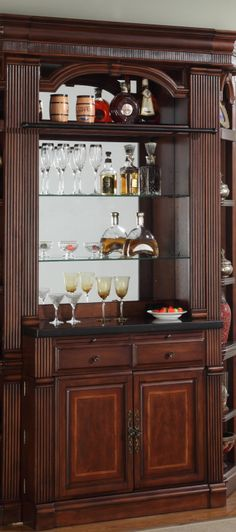 Wellington Bar and Hutch | Parker House | Home Gallery Stores... maybe for the study