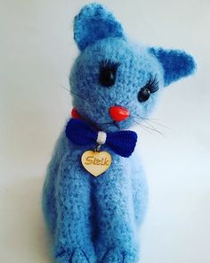 Check out this item in my Etsy shop https://www.etsy.com/listing/249190878/crochet-toy-amigurumi-cat-kitty-blue