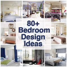 100+ AMAZING bedroom design ideas.
