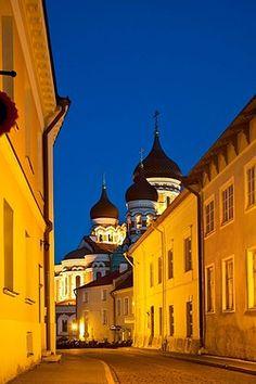 Russian church, Tallinn, Estonia