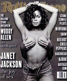 Janet Jackson for Rolling Stone Magazine | www.piclectica.com #piclectica #JanetJackson #RollingStone