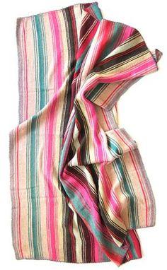 bolivian frazadas - bright #stripes! #splendideveryday