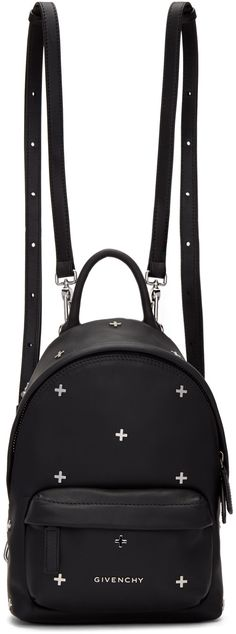 60e39913c67e Givenchy - Black Nano Cross Backpack Cute Black Backpack