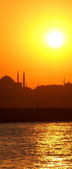 ✿ ❤ Sunset in İstanbul...