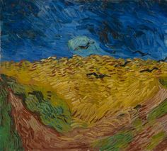 Wheatfield with Crows, 1890.