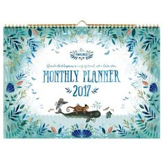 Monthly Planner 2017 Pimpelmees