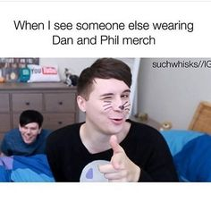 I made a friend on a competition once because she was wearing DnP merch (a TATINOF sweater to be exact)