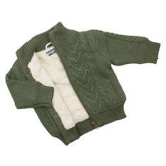 Dirkje babykleding Vest Flying (legergroen) | Dirkje babykleding