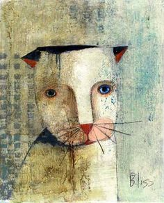 Cat by Noma Bliss @ etsy
